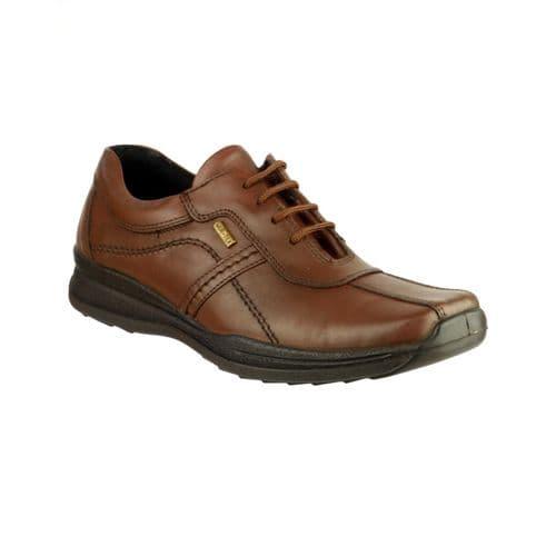 Cotswold Cam Lace Mens Shoes Brown